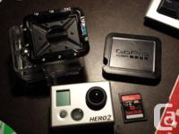 Like new GoPro HD Hero2 camera in dive situation (flat