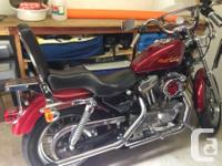 1995 Sportster 1200cc..... Was an 883cc..... HD of