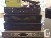 Shaw HD PVR cable television box recorders. Appreciate