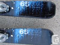 107cm Head Mojo 65 junior skis for sale. C/w Tyrolia 45