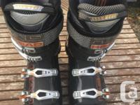 Head ski boot, used them 10 times, then I purchased