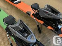 """Head Ski's and Bindings """"used twice"""" Bought at Mount"""