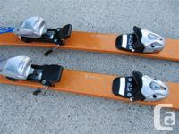 "117cm Head ""XRC 50"" parabolic skis with an 100/65/90"