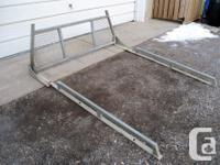 Good condition used headache racks (ladder rack) with