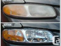 Full polishing And scratch / scrape removal headlight