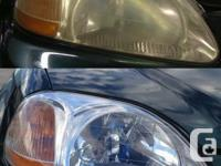 Your vehicle's headlights look Yellow, Hazy or Cloudy?