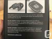 Bowers & WILKINS P3 Head phone that fold in half with