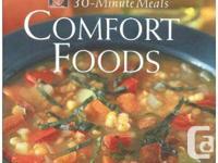 Rachael Ray comfort foods cookbook $3  NEW Cookbook: by