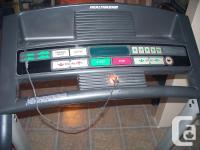 Healthrider electric treadmill. Excellent condition,