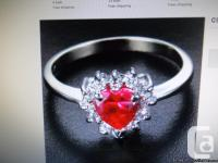"A really cute but elegant ring for that ""sweetheart"" in"