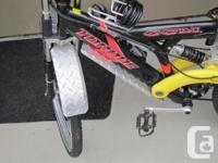 "Custom made aluminum bike fenders to fit 26"" wheels /"