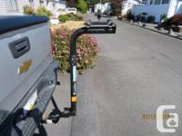 "Heavy duty bike rack for 2 bikes, comes with 2"" u-haul"