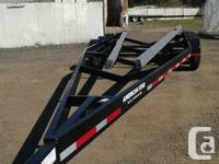 We sell and manufacture boat trailers.  Pictured are