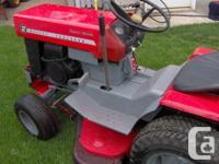 1972 Massey Ferguson MF 12 hydrostatic drive tractor