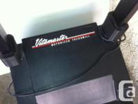 Vitamaster 350P motorized treadmill with Owner's Manual