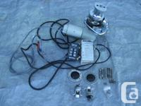 heavy duty Maxwell Dual Direction Windlass. Comes with