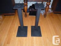 Hi, this is a great pair of stands for your speakers.
