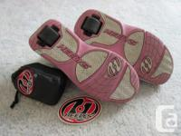 Includes a different set of wheels with carrying bag