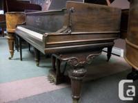 Heintzman & Co grand piano. Victorian art case. Great