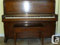 """This is a Weber piano made by Heintzman. It is 45"""" tall"""