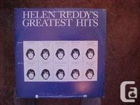 THIS VINYL RECORD ALBUM, HELEN REDDY'S GREATEST HITS,