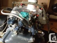 Stolen Feb 23, 2015 a helicopter engine was stolen from