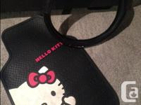I have two Hello Kitty car mats, plus a Hello Kitty