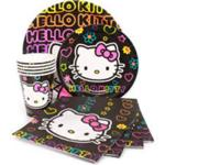 Hello kitty party items-paperware, party favour , foil
