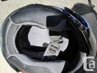 HJC Revenge helmet. Like new condition with new smoked