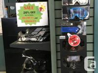 ALL IN-STOCK HELMETS, GOGGLES AND TOQUES 20% OFF now