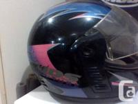 I have 4 helmets for sale. 3 full face, one, half for sale  British Columbia