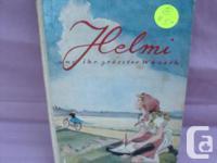 Two old German Books Title: #1 Book Helmi und ihr