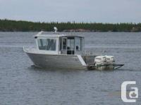 Welded aluminum boats by HENLEY since 1972.  Dealer for