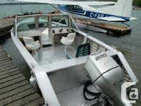 Welded aluminum boats by HENLEY since 1972.  ( Dealer