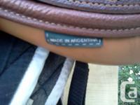 Brand new 16 1/2 Henri de Rigeur saddle. Purchased for