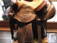 Beautifully crafted Hereford/Textan Western Saddle!