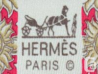 An authentic HERMES tie. Made of 100% silk & lined on