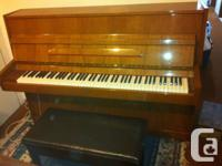 """I HAVE A GOOD CONDITION UPRIGHT """"HERO"""" PIANO FOR SALE,"""