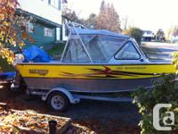 2007 Hewes craft 16 ft watercraft. In excellent