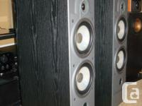 """The ENERGY 5.1e speaker hosts a 1"""" soft dome tweeter,"""