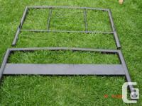 *** Metal adjustable bed frame, $20. ** Two Single bed