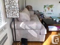 Hide-a-bed sofa, in pretty good condition, smoke-free,