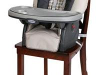 4-in-1 seating system adjusts to your growing child's