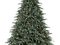 Very high end and life-like artificial christmas tree