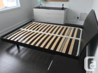 Bed is by Jesse, which is a high end Italian furniture