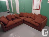 high end sectional couch from olgivy,could sell