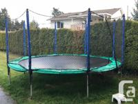 Very high quality trampoline, in excellent condition,