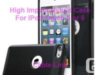 High Impact Hybrid Case for IPod Touch 5 or 6 -Dual