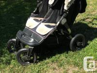 City Elite double stroller in excellent condition. This