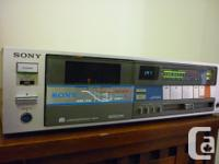 SONY TC-FX66 Made in Japan 1982-85 and sold for $320